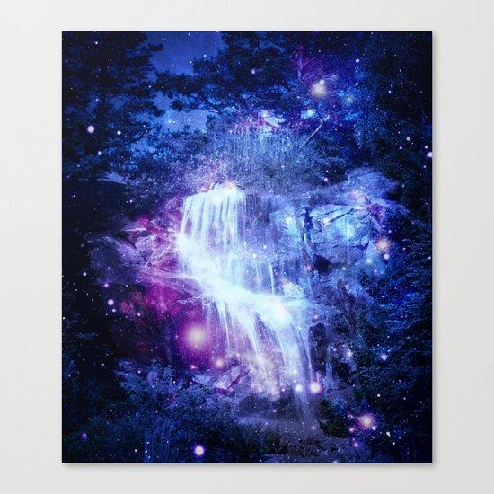 Magical Waterfall Canvas Print