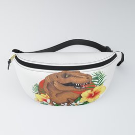 Tropical Dino Fanny Pack