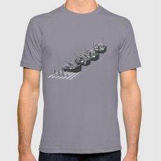Tour to Beijing Slate Mens Fitted Tee SMALL