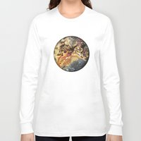 mineral Long Sleeve T-shirts featuring Mineral planet-3: cacoxene. by Gaspar Garijo