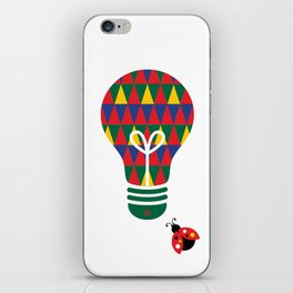 Bon Vivant: Bright Idea Art Series  iPhone Skin