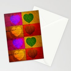 FOUR HEARTS FOR VALENTINE'S DAY Stationery Cards