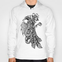 rooster Hoodies featuring Rooster by BurnBrand