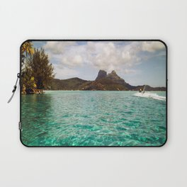 Bora Bora Tahiti, Take Me on a Jet Ski Laptop Sleeve