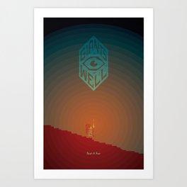 Giants' Well print Art Print