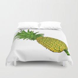 Pi the pineapple Duvet Cover