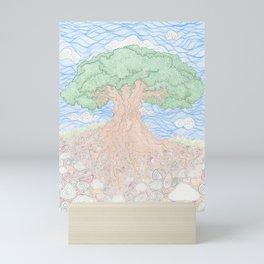 Roots and Leaves Mini Art Print