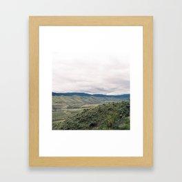 Savona Framed Art Print