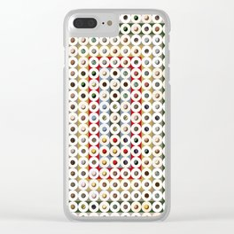 247 Toilet Rolls 14 Clear iPhone Case