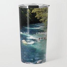 Lake Marian, New Zealand Travel Mug