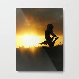 Sunset Joy Metal Print