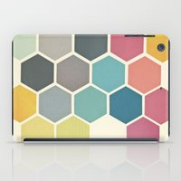 cassia beck iPad Cases featuring Honeycomb II by Cassia Beck