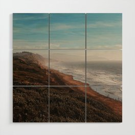 Fort Funston Park in San Francisco, California Wood Wall Art