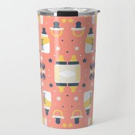 Modern Elements Pattern Art Travel Mug