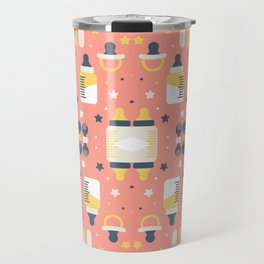 Modern Elements Pattern Art Travel Mug