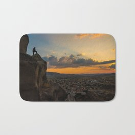 Amazing hike (sunset) Bath Mat