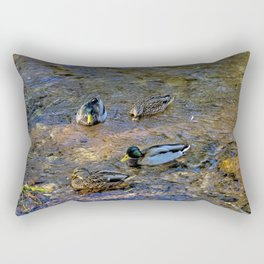 Mallard Pairs Rectangular Pillow