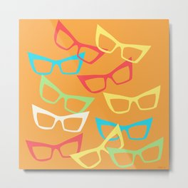 Becoming Spectacles Metal Print