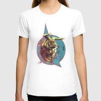 spiritual T-shirts featuring Spiritual Tiger by Rene Alberto