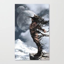 The Shedding Of Darkness 2 Canvas Print