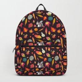 Pumpkins, squirrels, chipmunks & leaves Backpack
