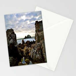 Scene Between Two Rocks Stationery Cards