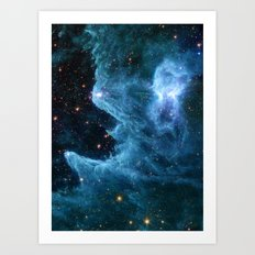 Ghost Nebula Art Print