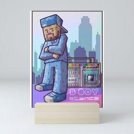 BBoy Stance Mini Art Print