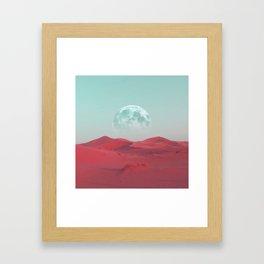 Pink Sahara Framed Art Print
