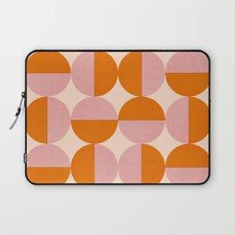 Abstraction_SUN_Circle_Pattern_Minimalism_001 Laptop Sleeve