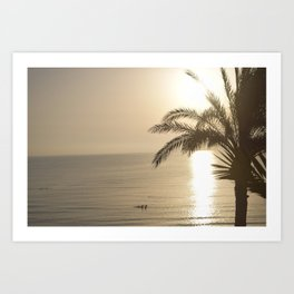 Tunisian African Beach Sunrise Art Print