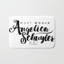 What Would Angelica Schuyler Do? Bath Mat