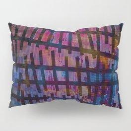 Line and Blue Pillow Sham