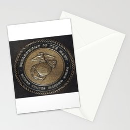 Marine Corps Symbol Style 2 Stationery Cards