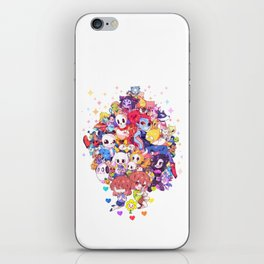 UNDERTALE MUCH CHARACTER iPhone Skin