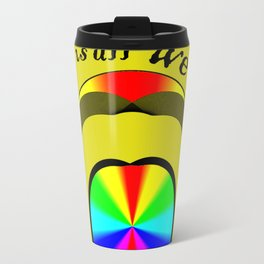 Luv is All We Need Travel Mug