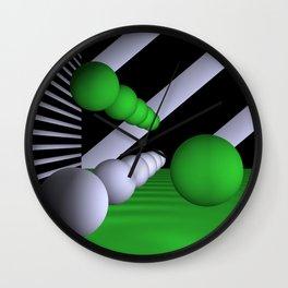 3D-geometry -7- Wall Clock