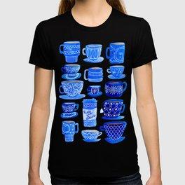 Blue Teacups and Mugs T-Shirt
