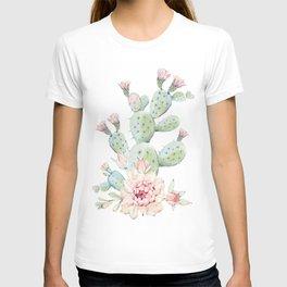 Cactus 3 White #society6 #buyart T-shirt