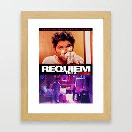 Requiem for a Tuesdays Movie Poster (Parks and Rec) Framed Art Print