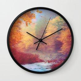 Dreams Remembered Wall Clock