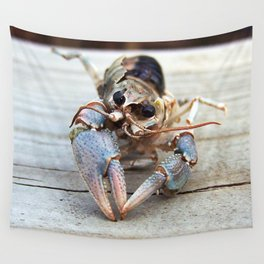 Haunting Crawfish Wall Tapestry