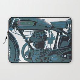 Blue Bike Laptop Sleeve