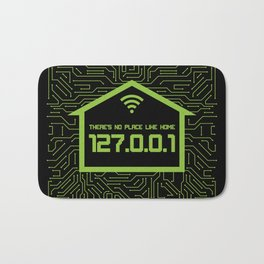There's No Place Like Home 127.0.0.1 Bath Mat