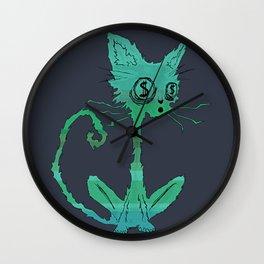 Dolar cat Wall Clock