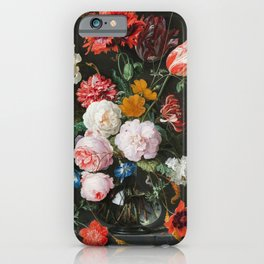 Dutch Golden Age Floral Painting iPhone Case