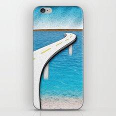 Road Work Ahead iPhone & iPod Skin