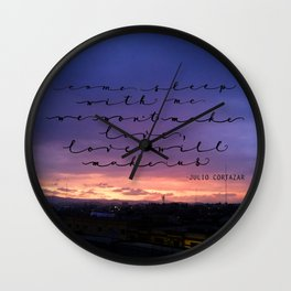 Love will make us, Cortazar Wall Clock