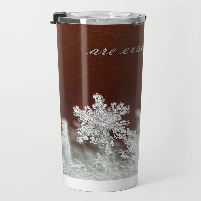 Grandchildren and Snowflakes Travel Mug
