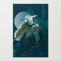doom Canvas Prints featuring DOOM by orlando arocena ~ olo409- Mexifunk